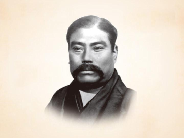 三菱グループの礎を築いた男。岩崎彌太郎。